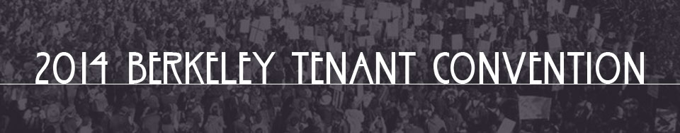 2014 Berkeley Tenants Convention