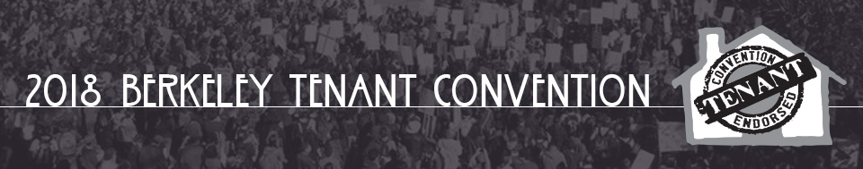 2018 Berkeley Tenants Convention